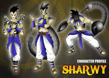 Ficha de personaje estilo RPG - Sharwy by BoNoi