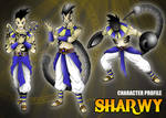 Ficha de personaje estilo RPG - Sharwy