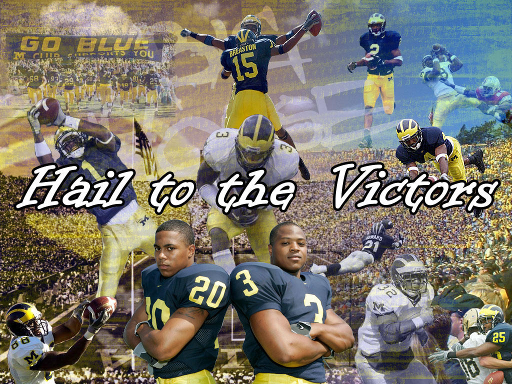 Michigan Football Wallpaper 1 by jdubs
