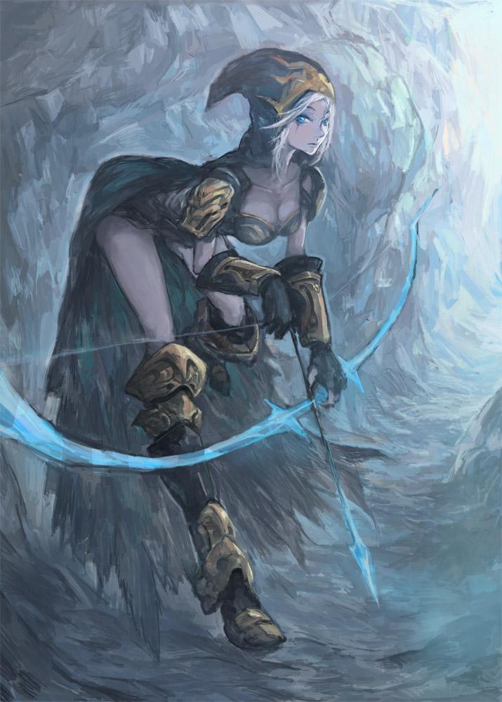 League of Legends---Ashe by TEnmoom
