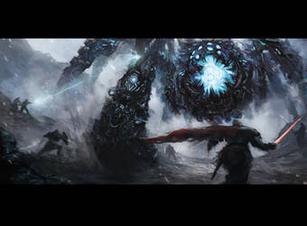 Battle Scene II by TEnmoom