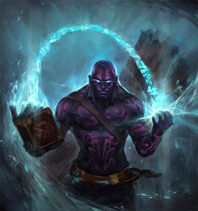League of Legends---Ryze by TEnmoom