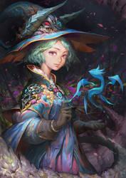 Sorceress of Dragon by TEnmoom