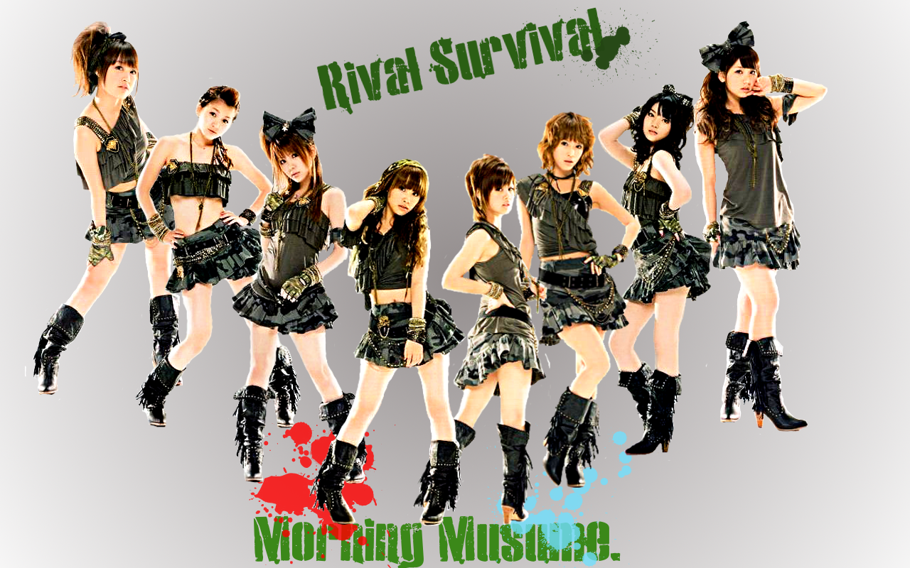 Morning Musume Rival Survival1 by AznNamiChan