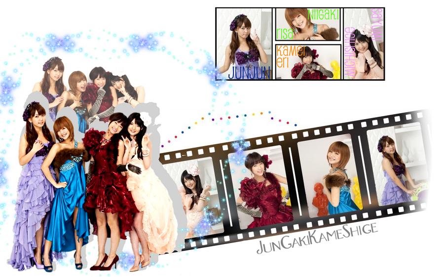 JunGakiKameShige Wallpaper by AznNamiChan