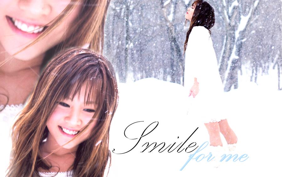 Smile for me -Niigaki Risa- by AznNamiChan