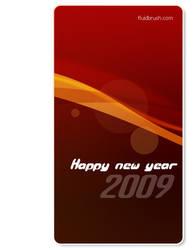 Happy new year by fluidbrush
