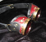Red Adventurer Goggles