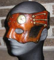 Staplehead half mask by waywarddreams