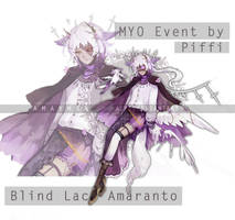 [PIFFI'S MYO EVENT] Blind Lace Amaranto by A1RI