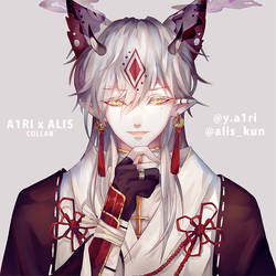 COLLAB WITH ALIS by A1RI