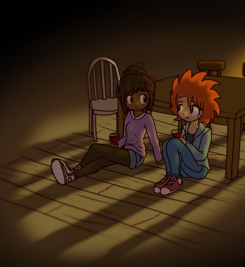 Katie and Hazel by JezMM