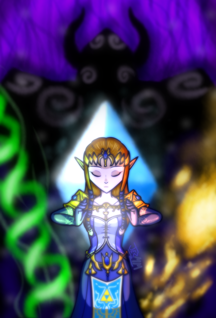 Princess Zelda by JezMM