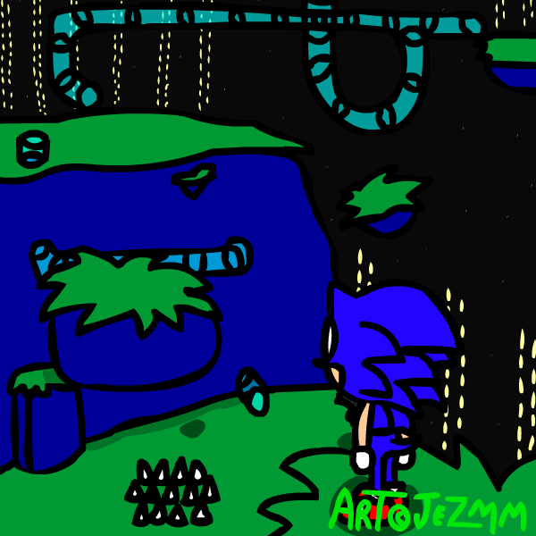 Sonic 2 - Scrambled Egg Zone by JezMM