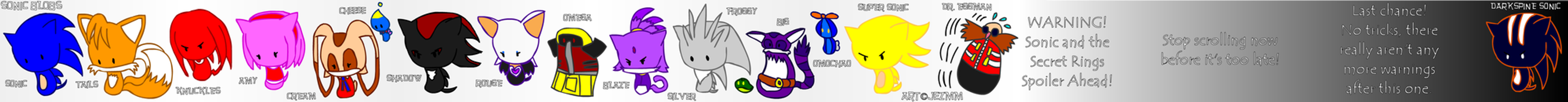 Sonic Blobs by JezMM