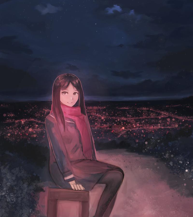 night by moonbi