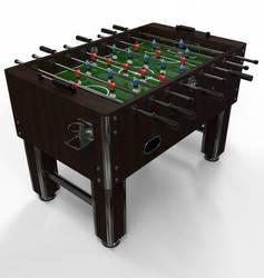 FOOTBALL TABLE SCENE