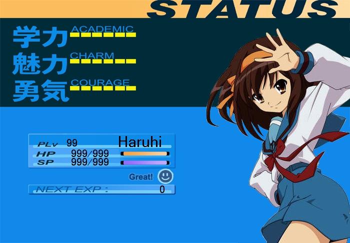 The Sigh of Haruhi Suzumiya light novel The Haruhi Suzumiya Series