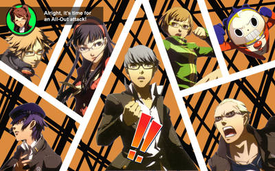 P4 Full All Out Attack by junkosakura01
