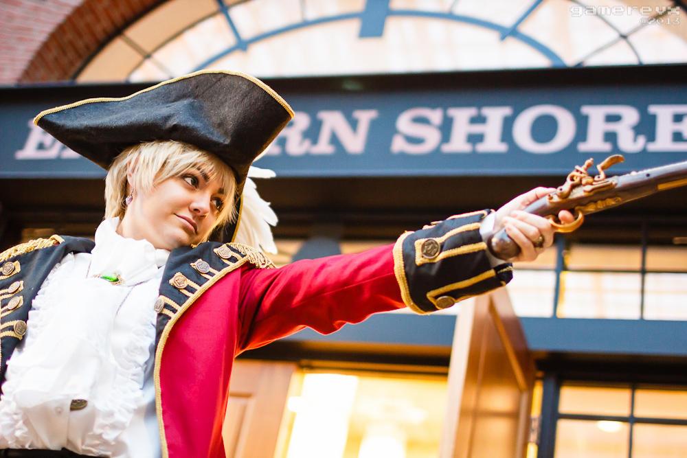 Ready! - Pirate!England (Hetalia)