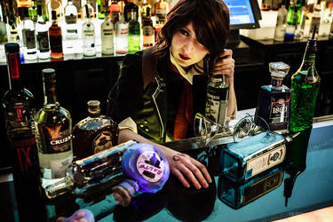 DeWitt at the Bar - BioShock Infinite