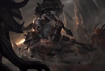 Rage of Barbarian