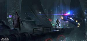 Blade Runner Fan Art by zinph1212