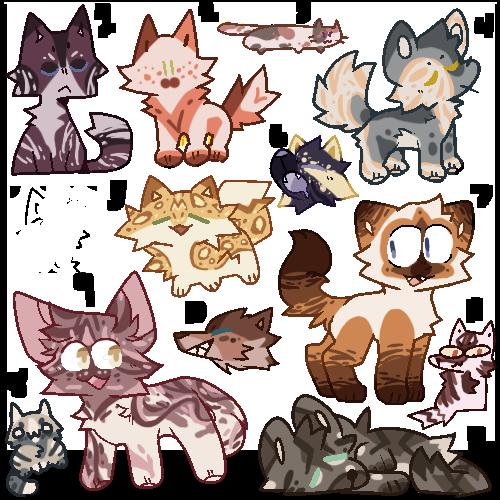 Lil Cats OTA Adopts [6/10 open!]
