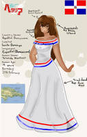 Dominican Republic OC by BriannaAdopts
