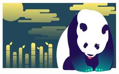 Panda and His Bamboo