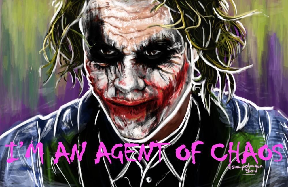 The Joker - Heath Ledger by snapdragon360