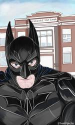 BatmanSelfie by snapdragon360