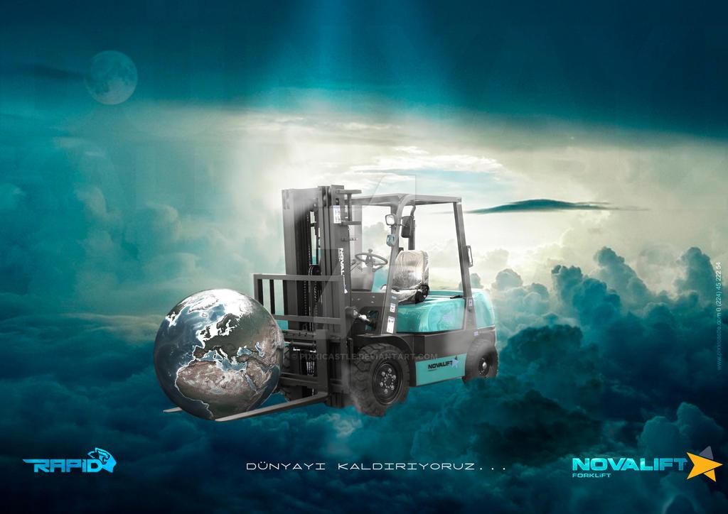 Novalift by PixxiCastle