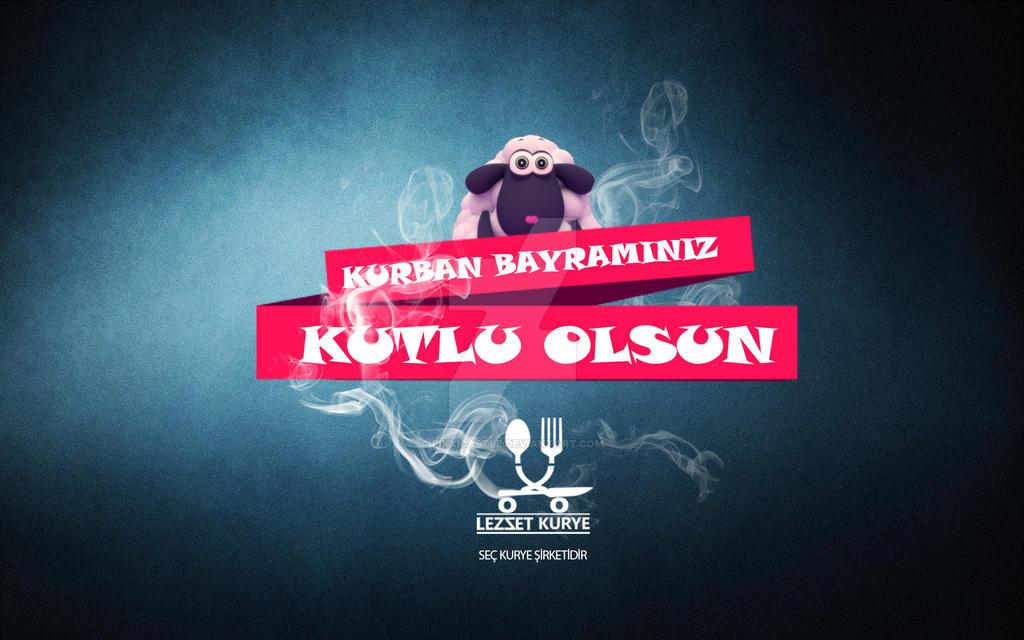 Lezzet Kurye Kurban Bayram by PixxiCastle