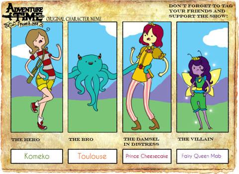 Adventure Time Meme by Komeko