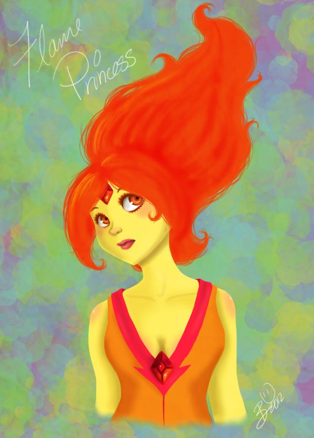 Flame Princess by Komeko
