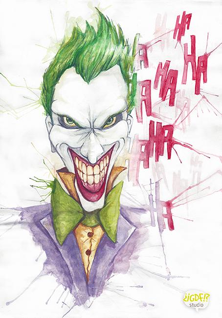 Joker by MissNariel