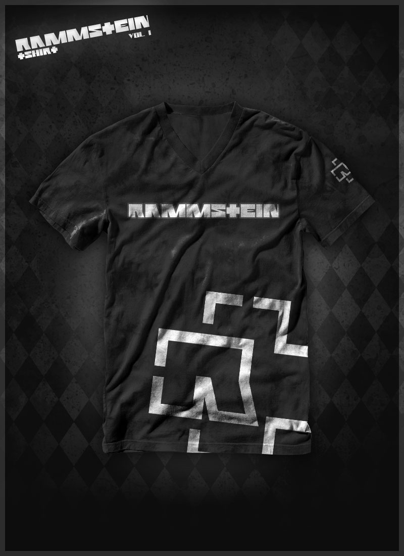 rammstein t shirt vol 1 by waterdesign on deviantart. Black Bedroom Furniture Sets. Home Design Ideas