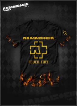 Rammstein t-shirt vol.5