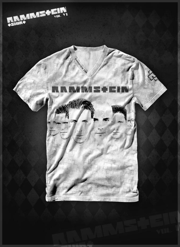rammstein t shirt vol 6 by waterdesign on deviantart. Black Bedroom Furniture Sets. Home Design Ideas