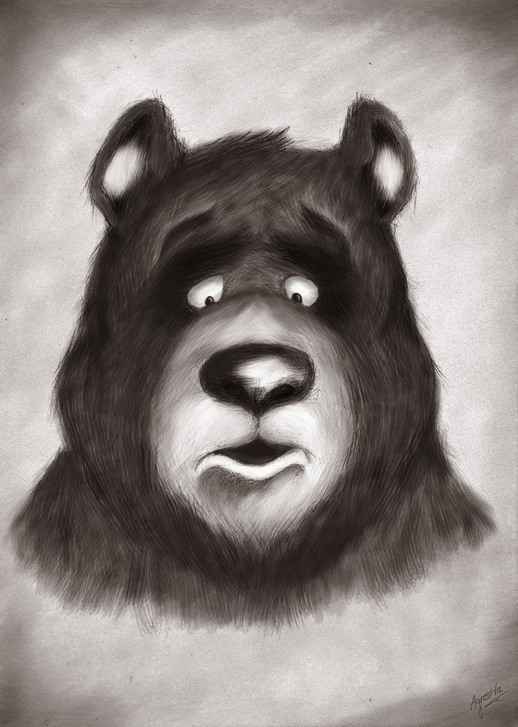 Bear in color by waterdesign