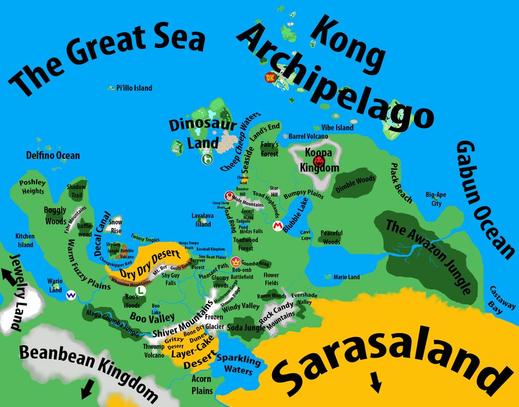 Mushroom Kingdom Map V3 (Final?) by Marhiin on DeviantArt