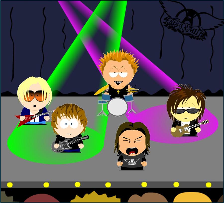 Aerosmith South Park by Terry2691 on DeviantArt