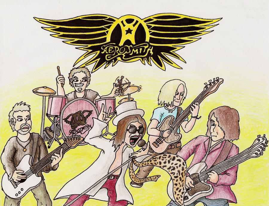 Aerosmith by Terry2691