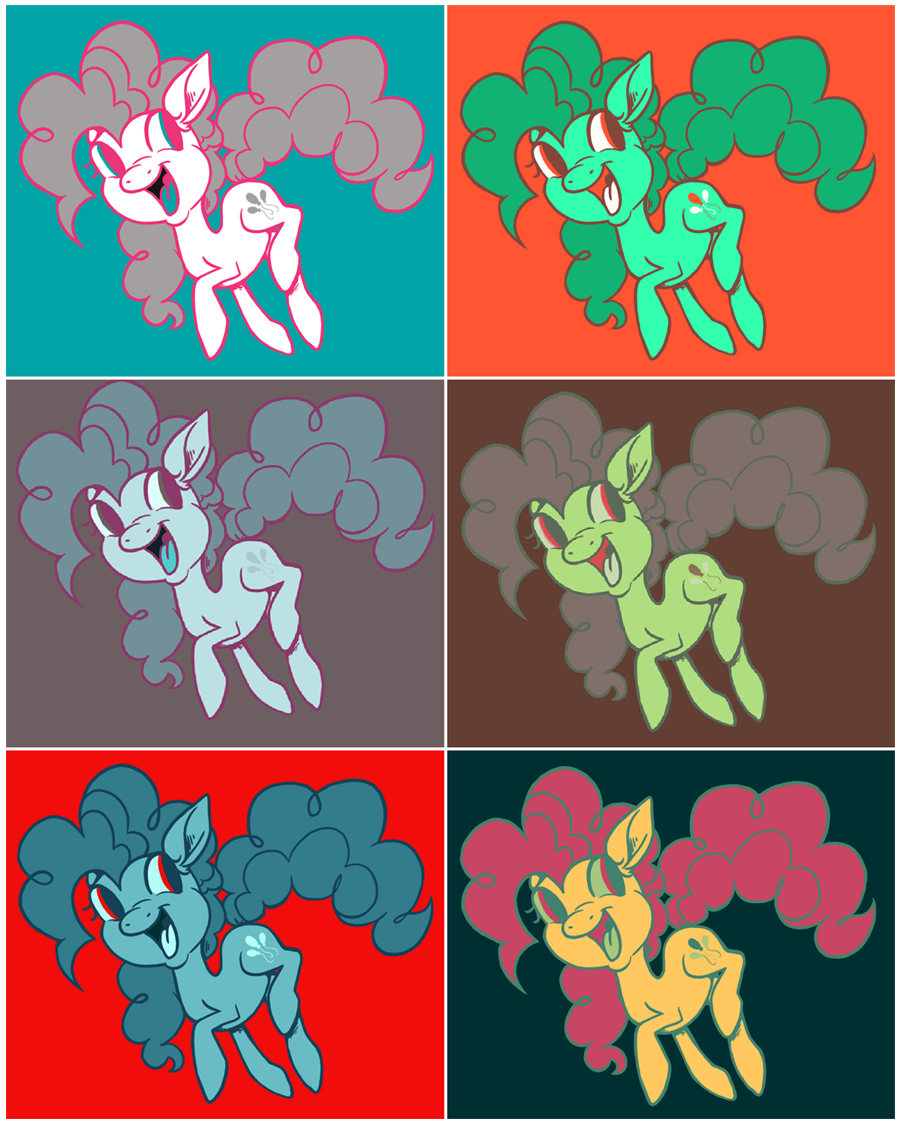 PINKIE COLOURS GO GO GO by Yo-Angie
