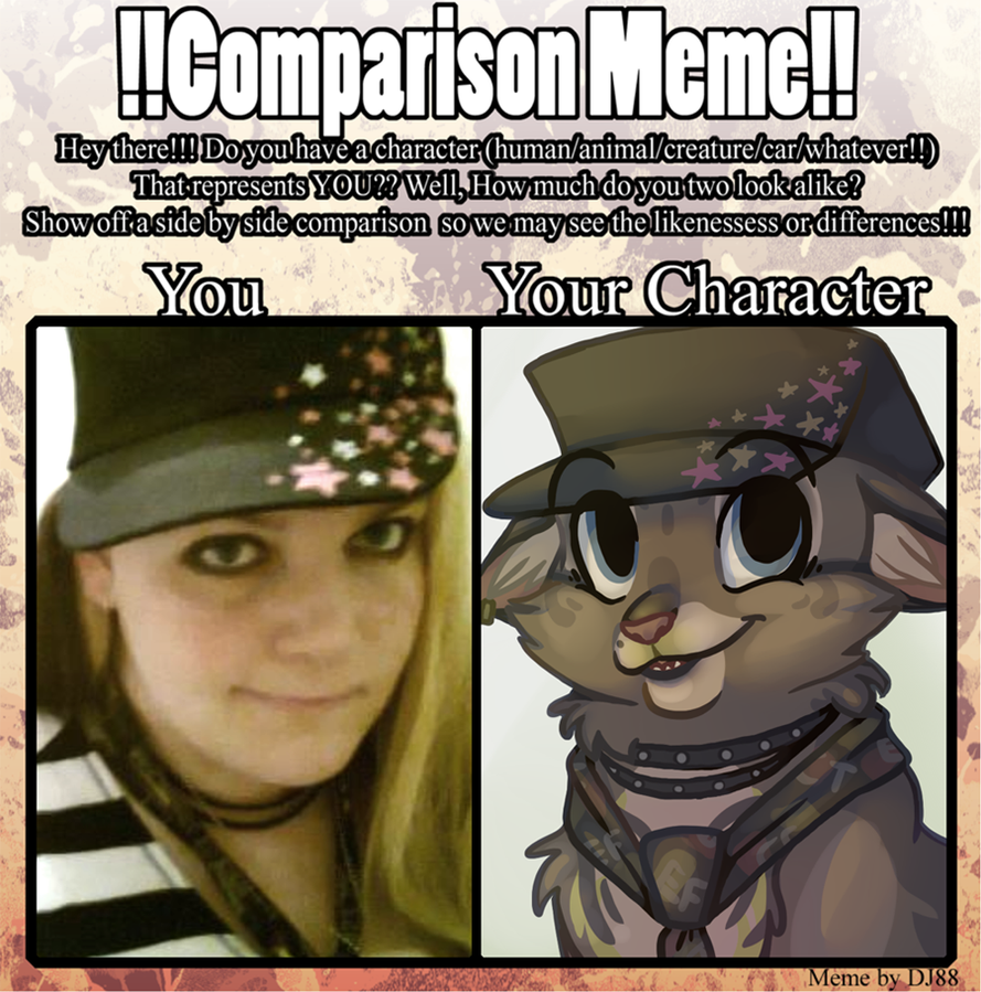 Comparison Meme by Yo-Angie