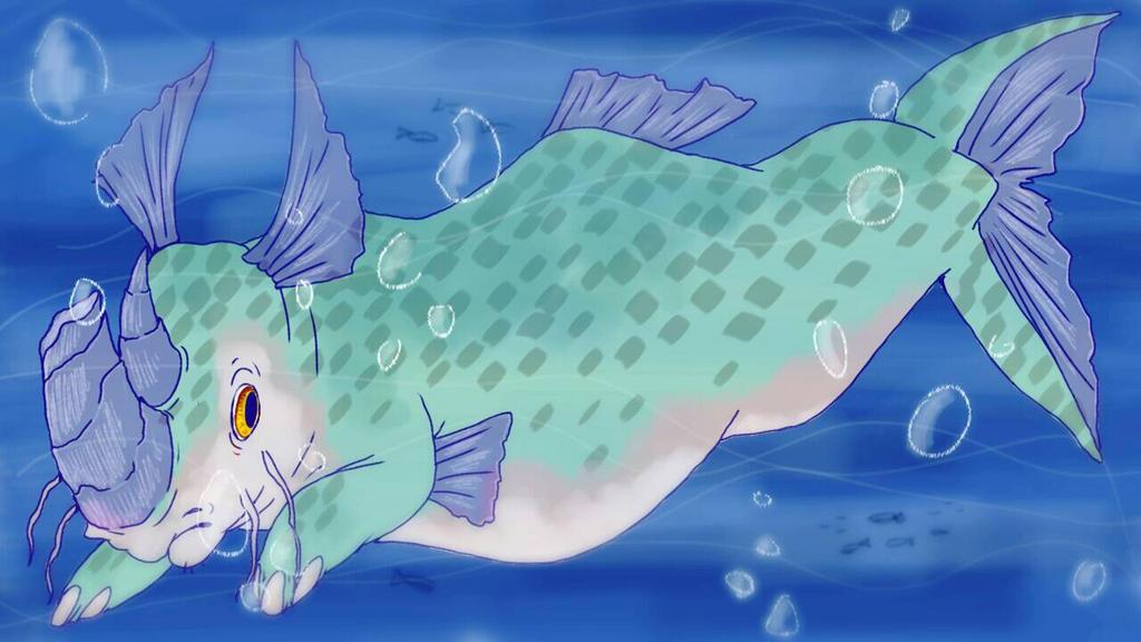 rhino fish? by Yo-Angie