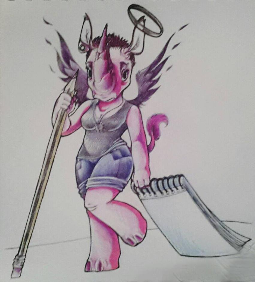 Time to draw by Yo-Angie