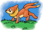 Buizel run