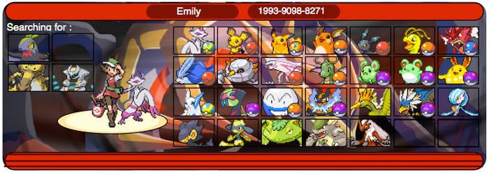 My shinies on pokemon Y